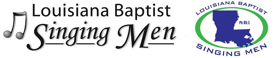 Louisiana Baptist Singing Men - logo